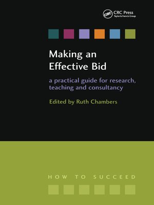 cover image of Making an Effective Bid